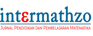 INTERMATHZO | Jurnal Pendidikan dan Pembelajaran Matematika